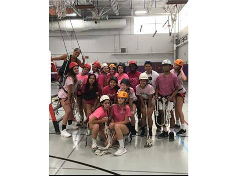 Varsity Team 2019  It's Team Building Time