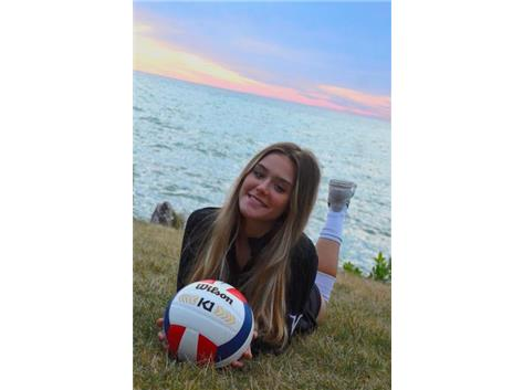 Senior #1 Setter Olivia Grbavac