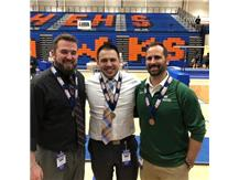 1st,2nd & 3rd place coaches