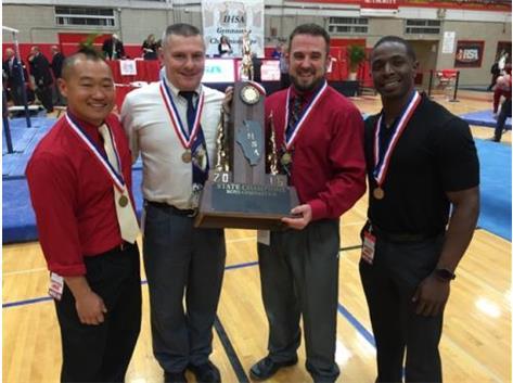 The state championship coaching staff!