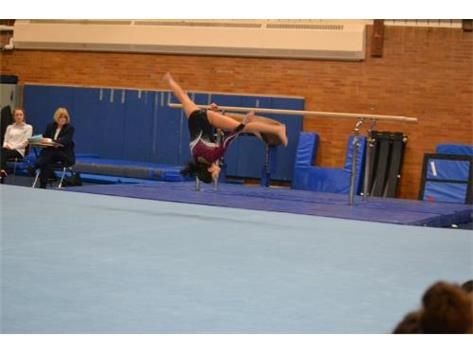 Sophomore- aerial on floor