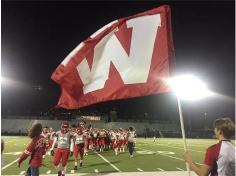 """Fly the """"W"""" for a victory over Niles North."""