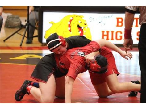 Girls wrestle too!!!