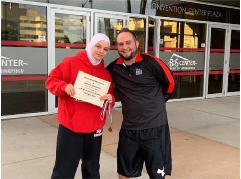 Al Ghala Mariam Al Radi - 4th in State