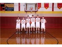 Senior Boys Basketball Players