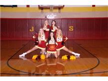 Winter Varsity Cheerleaders