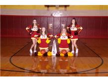 Winter Junior Varsity Cheerleaders