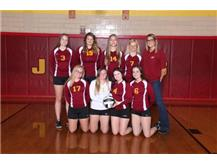 JV Volleyball Players