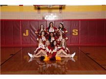 Varsity Basketball Cheerleaders