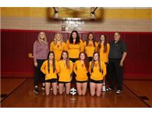 2019 Northeastern Jets Varsity Volleyball Team