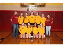 2019 Northeastern Jets Junior Varsity Volleyball Team