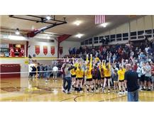 Jets Volleyball earn first league title in school history.