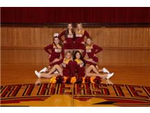 20-21 Varsity Basketball Cheer Team