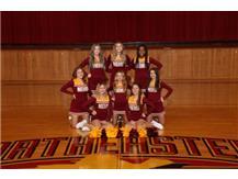 20-21 Junior Varsity Basketball Cheer Team