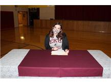 White - Signs with Eastern Kentucky University