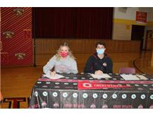 McCabe and Franzen - Signs with Ohio State - Go Bucks!!!