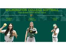 NEHS Alum - Haley Suchland earns Softball all league honors at Wilmington - Photo Courtesy of Wilmington College