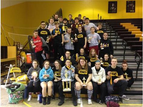 Congrats NEHS lifters for your girls team 1st and boys team 3rd at the KR meet! And every student placing in their weight class. Go Jets!