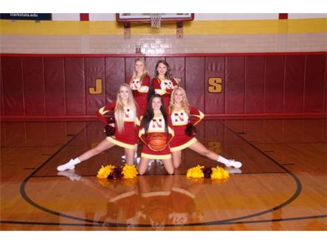 Winter Varsity Cheerleaders