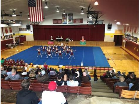 Spread the Cheer Cheerleading Competition