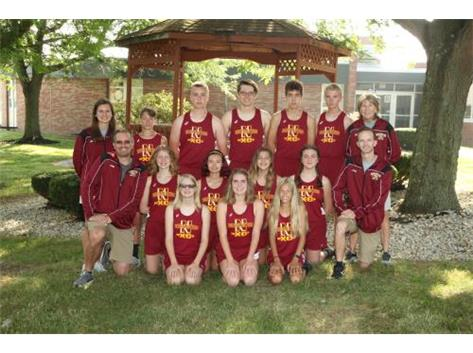 2019 Northeastern Jets Cross Country Team