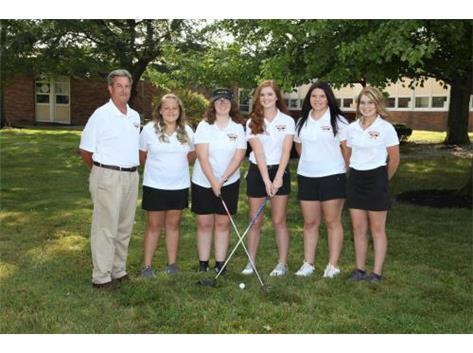 2019 Northeastern Jets Girls Golf Team