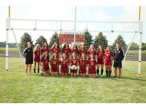 2019 Northeastern Jets Girls Soccer Team
