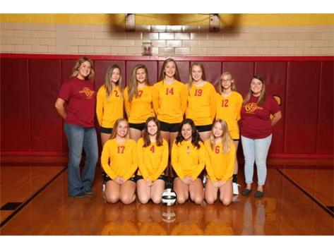 2019 Northeastern Jets Junior Varsity Volleyball Team