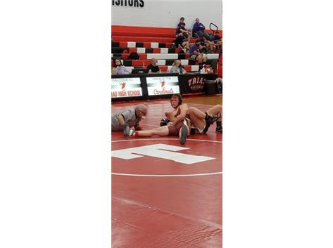 C-Bass goes for the pin