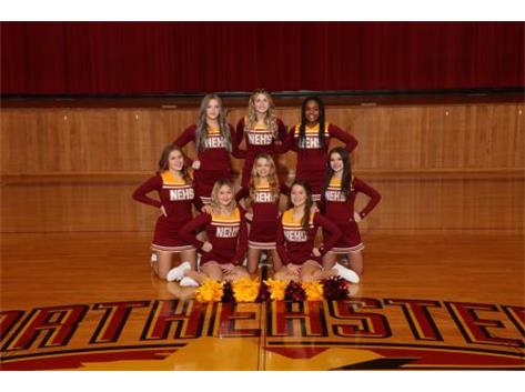 20-21 Junior Varsity Basketball Cheer Team