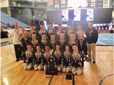 Cheerleading 2017 IHSA 3rd Place State