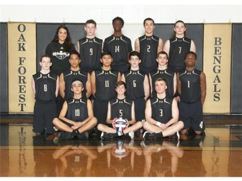 Soph Boys' Volleyball 2016-2017