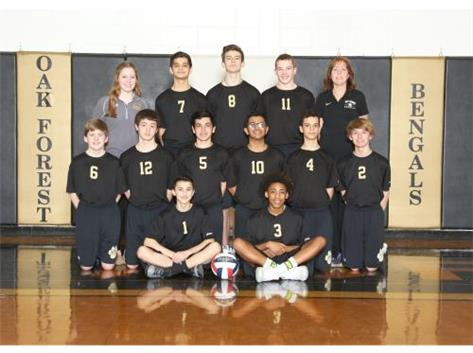 Frosh Boys' Volleyball 2016-2017