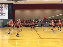All eyes are on the ball in the match against Winnebago.