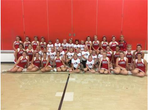 The future Hawk Cheerleaders!