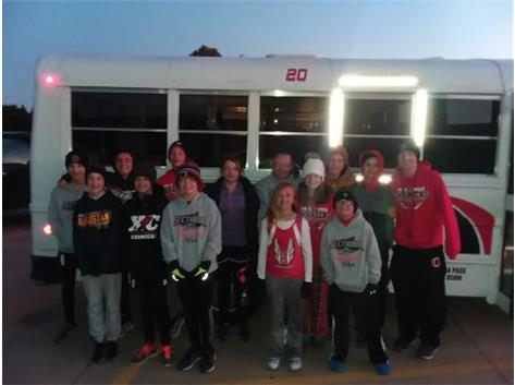 Good Luck At The Sectional Meet!