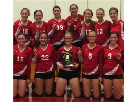 Bremen Varsity Volleyball Tournament 1st Place