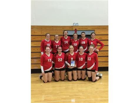 Rochelle Tournament 2nd place