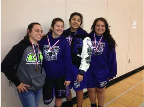 Pacheco qualified 4 Girls to CIF Girls State Wrestling Championships