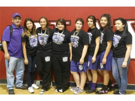 Pacheco Girls Wrestling Team attends the Haybayler wrestling tournament