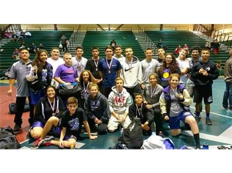Medalists at the Central Valley Tourney.