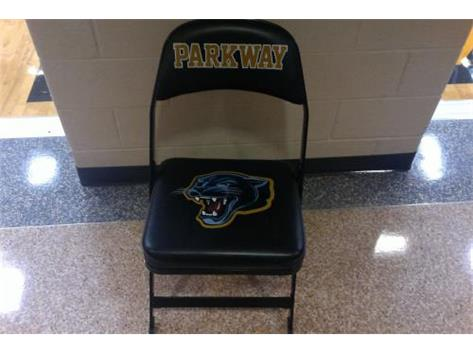 Athletic Boosters purchased 40 chairs for game days for the volleyball and boys and girls basketball teams.