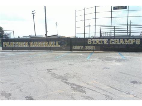 Athletic Boosters purchased the Parkway Baseball State Champions windscreen