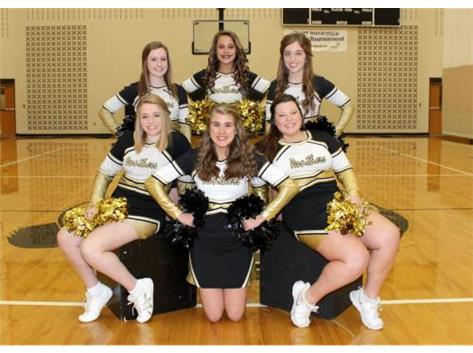 2015-2016 JV Basketball Cheerleaders