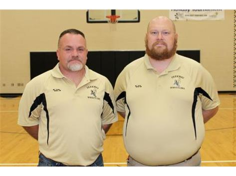 Varsity Wrestling - Coach Joseph and Coach Browning