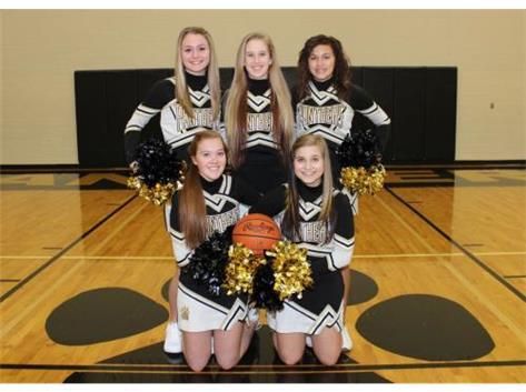 8th Grade Basketball Cheerleaders