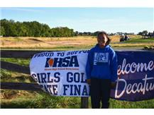 Karli Borsch qualified for the state finals in girls golf