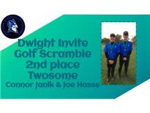 Dwight Invite 2nd place Twosome Connor Janik & Joe Hasse
