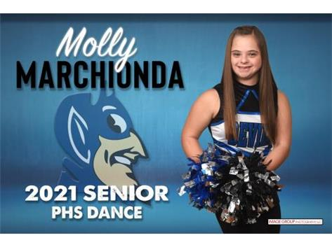 Molly Marchionda Senior Banner 20-21