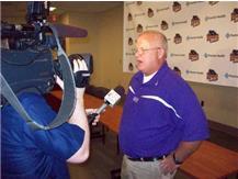 Head Coach Jay Sharrett.